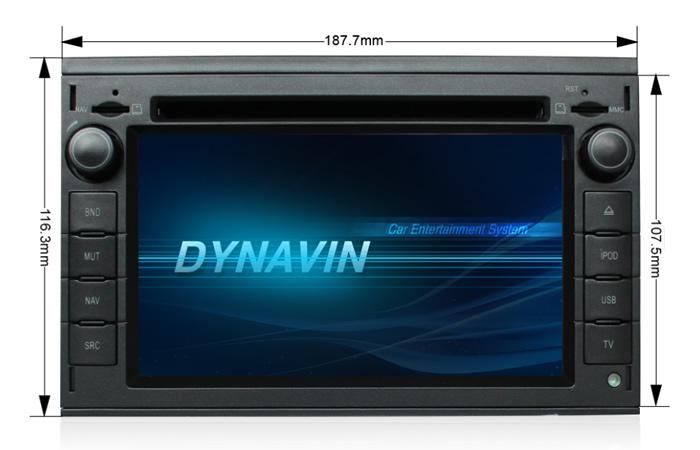 Dynavin 6201 Universal Double  2 Dvd  Bluetooth  Usb