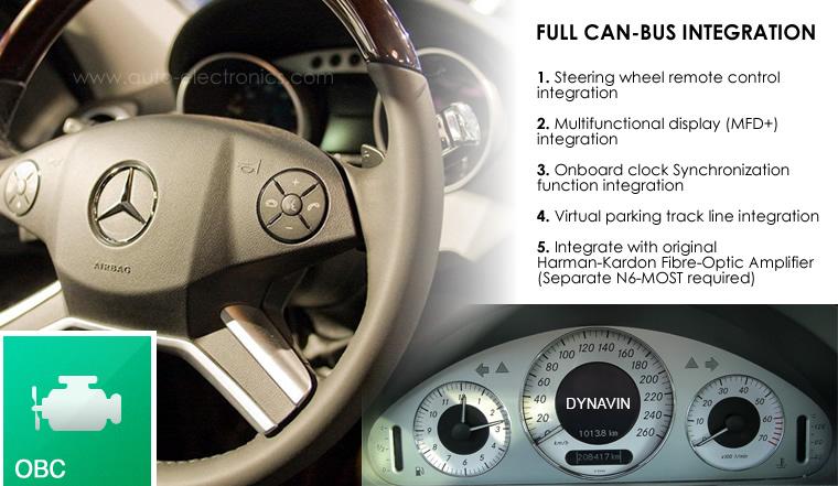 Dynavin N6-CLK for Mercedes-Benz CLK-Class (2005-2009, W209) CLK