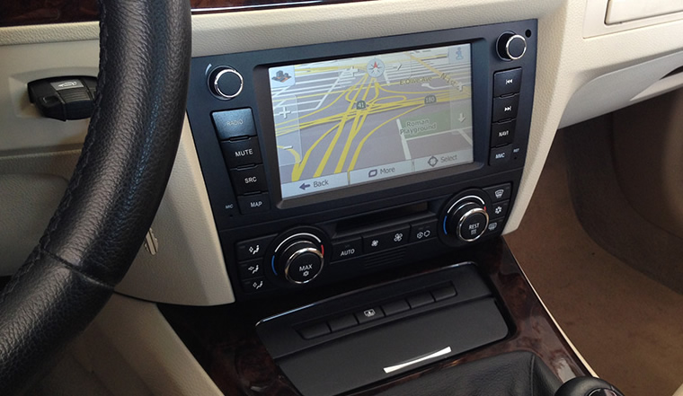 bmw e90 n6 3 series dynavin auto air con radio dvd ipod. Black Bedroom Furniture Sets. Home Design Ideas