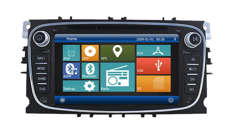Oem Style Plug And Play Ford Mondeo Dvd Gps Navigation