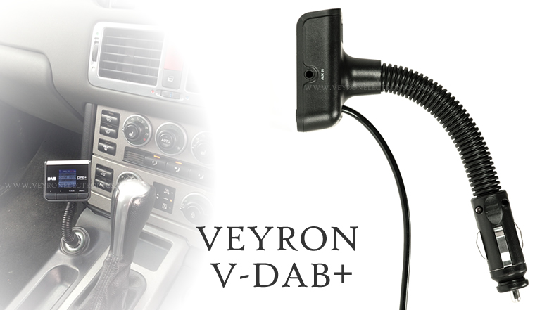veyron v dab plug play car dab digital radio adapter. Black Bedroom Furniture Sets. Home Design Ideas