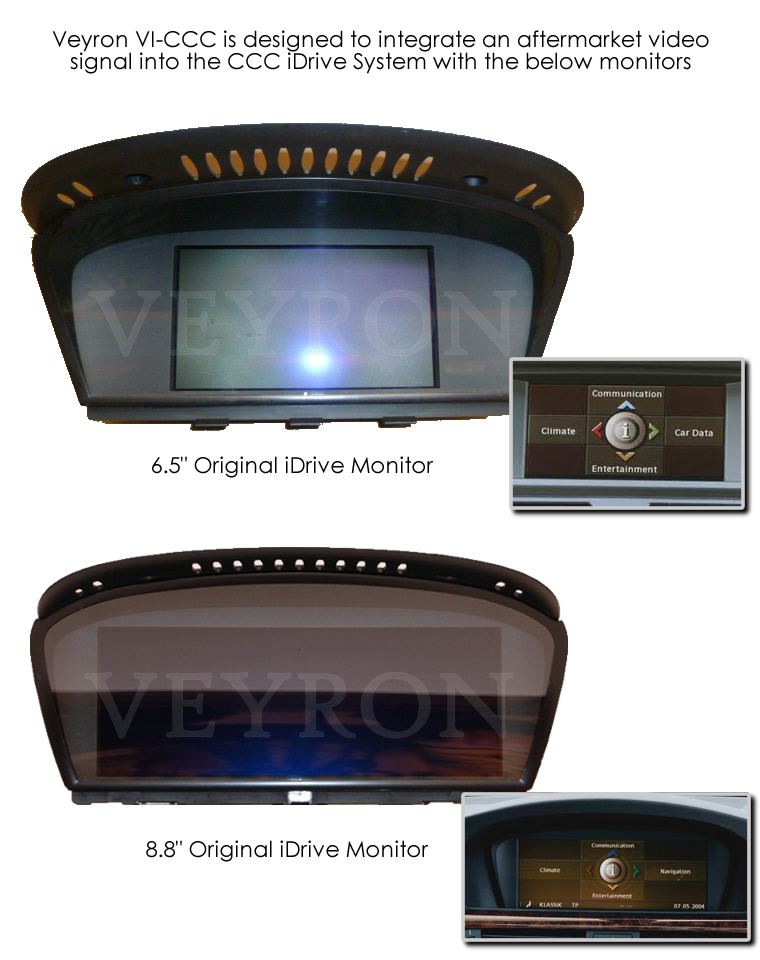 veyron vi ccc reverse camera video interface for bmw. Black Bedroom Furniture Sets. Home Design Ideas