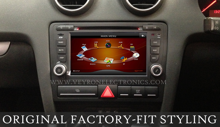 sonic audio vns a3 oem style radio dvd ipod bluetooth gps. Black Bedroom Furniture Sets. Home Design Ideas
