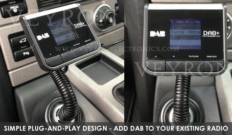 dab universal plug and play dab radio adapter for 12v 24v. Black Bedroom Furniture Sets. Home Design Ideas