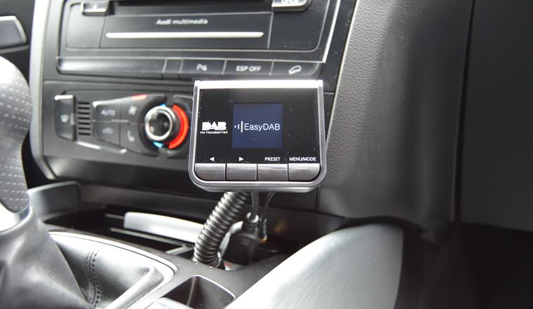plug play car van dab digital radio adapter with fm. Black Bedroom Furniture Sets. Home Design Ideas